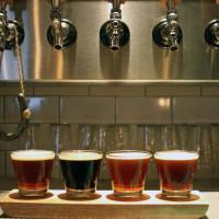 LUCK Trinity Groves beer flight