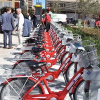 Crawford Island Bcycle station