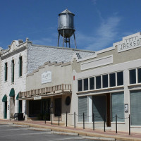 City of Round Rock water tower downtown