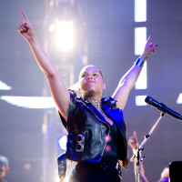 Alicia Keys at Houston Rodeo