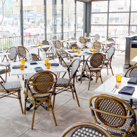 Houston, new patios, March 2017, Brasserie du Parc
