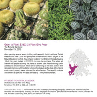 Drawing Lines District 8: Grant to Plant : $3333.33 Plant Give Away