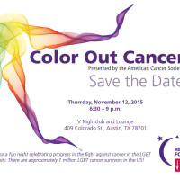 American Cancer Society presents Color Out Cancer