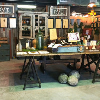 The Vintage Round Top booth overall