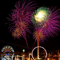 Fourth of July at the Kemah Boardwalk