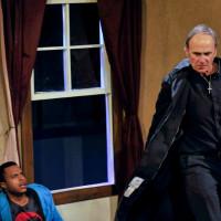 David Jeremia, Van Quattro in Second Though Theatre's Behanding of Spokane