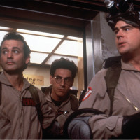 Ghostbusters with Bill Murray, Dan Aykroyd and Harold Ramis