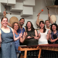 class at Rattletree School of Marimba