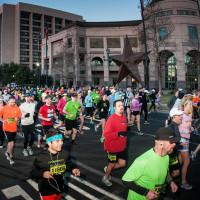Austin Marathon starting line
