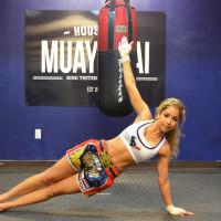 Houston Texans cheerleader Antonieta