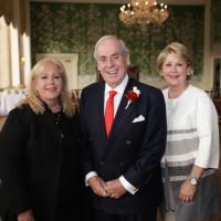 Anne Incorvia, John Daugherty, Cheri Fama at 50th anniversary celebration