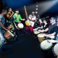 The Tobin Center for the Performing Arts presents Do You Speak Djembe?