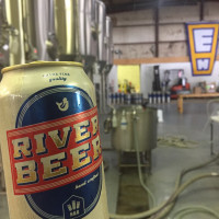Hops and Grain Brewing River Beer can