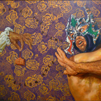 "The Guadalupe Cultural Arts Center presents ""The Other Side of the Alamo: Art Against the Myth Exhibition"" opening reception"