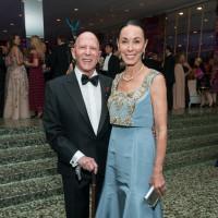 Sue and Lester Smith at MFAH Grand Gala Ball 2017