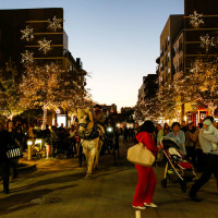 Crocket Row at West 7th holiday events
