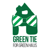 Green Tie for the Green Haus