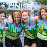 BP MS 150 girls posing