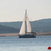 Sail boat on Lake Travis austin