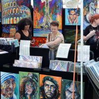 Dallas Arboretum and Botanical Garden presents Artscape Fine Art and Craft Fair