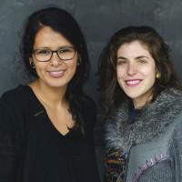 Brenda Cruz-Wolf and Daniela Antelo
