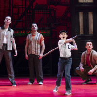 The Broadway cast of A Bronx Tale