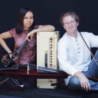 Marcela Chavarria-Araya and Drew Johnson