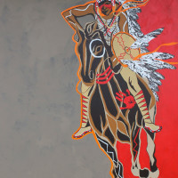 """""""Comanche Motion: The Art of Eric Tippeconnic"""" opening reception"""