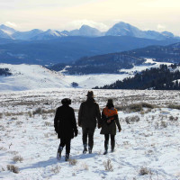 Hoffman - travel - mountain hike- Montana Ranch at Rock Creek