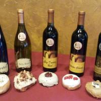 Wine and Donut Pairing