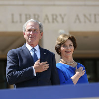 George W. Bush and Laura Bush