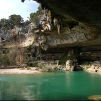 Austin Photo Set: News_Peter Lewis_Swimming Holes_Hamilton Pool_june 2011_Alix Piorun