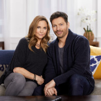 Jill Connick and Harry Connick, Jr.