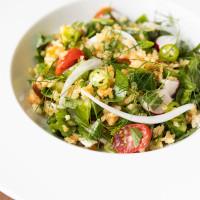 UB Preserv crispy rice salad