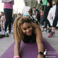 Goat Yoga for charity