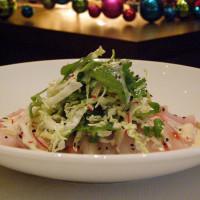 Places_Food_RDG_yellow tail tuna sashimi salad