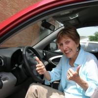 News_Liz Bennett_parking ticket_thumbs up
