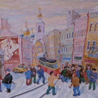 """Perestroika Inspired: Russian Paintings of the Late 20th Century"" opening reception"
