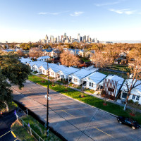 Project Row Houses aerial shot