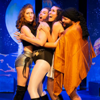 The Hideout Theatre presents Sexy Future Space Lady