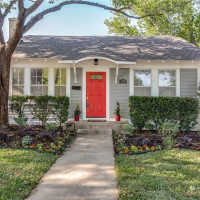 4620 El Campo Ave, Arlington Heights painted doors, Fort Worth