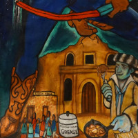 """""""10,000 Years of Love & Resistance: A Celebration of the Arts and Spiritual Union"""" opening reception"""