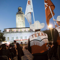 UT Austin university of texas campus commencement tower