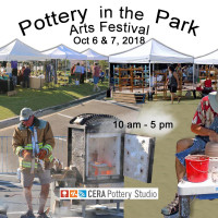 Pottery in the Park Arts Festival