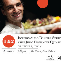 Dinner Series: Chefs Julio Fernandez Quintero and Tim Rattray