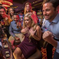 People winning at casino slots