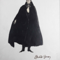 """DRACULA! Inspirations by Edward Gorey"" opening day"