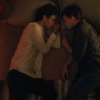 Theodore Pellerin and Lucas Hedges in Boy Erased