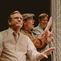 Amphibian Stage Productions presents Artist Descending a Staircase