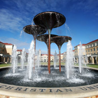 News_Texas Christian University_fountain